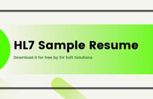 HL7 sample resume downlaod
